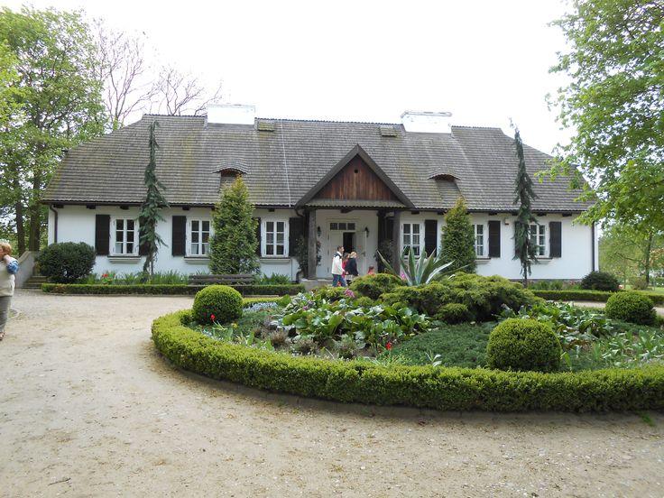 Poland - Sierpce skansen - the manor