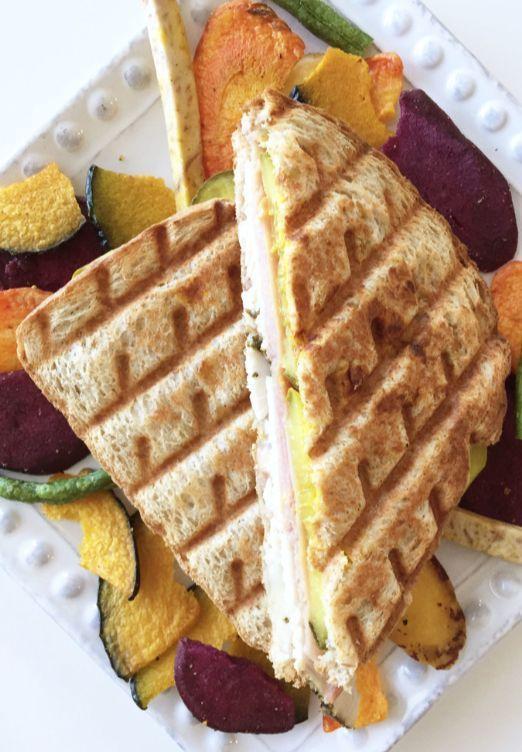 ... Healthified Turkey Cuban Sandwich   Turkey, Lunches and Cuban sandwich