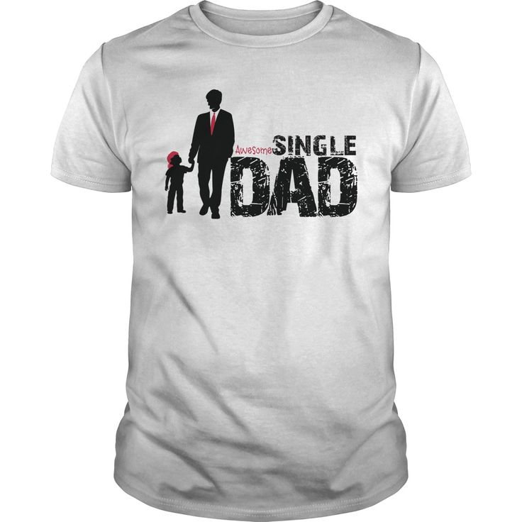 💝 Awesome Single #DAD T shirt For Fathers Day Celebration  🎁 Happy Father...
