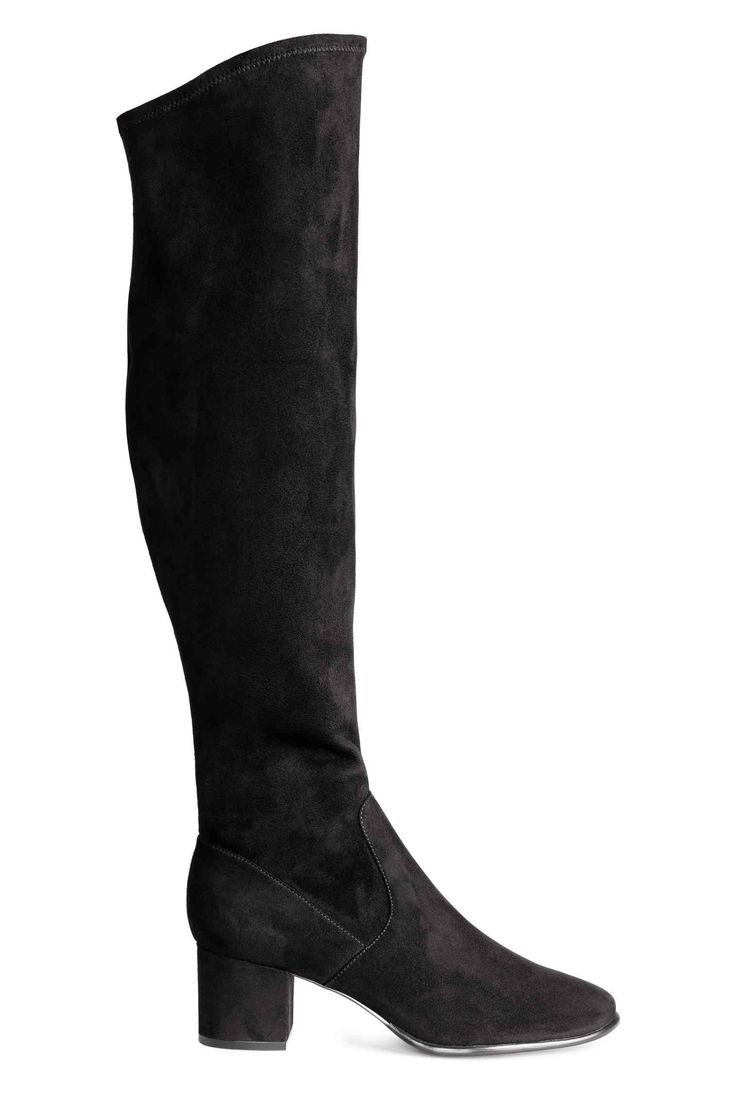 Long boots - Black - Ladies | H&M GB