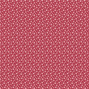 Tilda Sweetheart Fabric Ilse Carmine Red