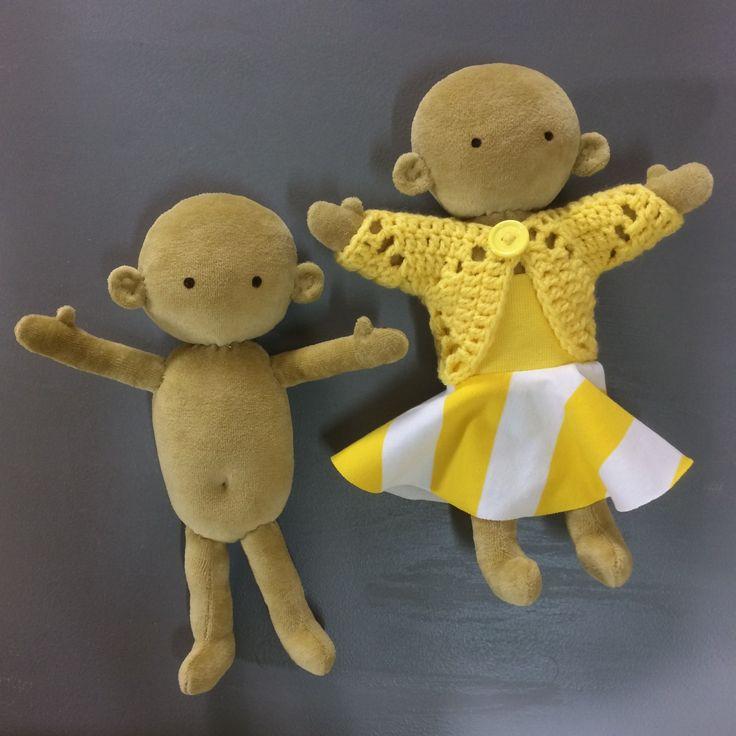 Sy en Docka. DIY doll