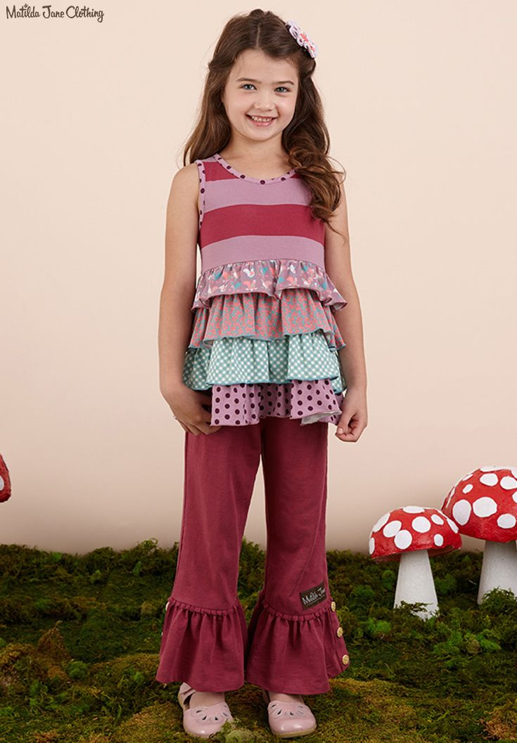 Once upon a time...Fall 2016: Oh Dear Tunic and Storyteller Big Ruffles
