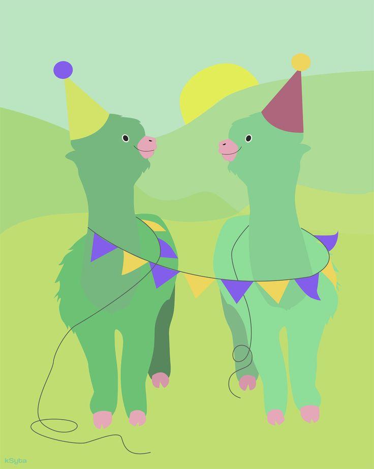 alpaca's party time - Karolina Syta