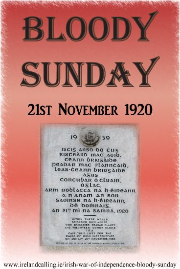 Bloody Sunday was a day of atrocities that took place during the Irish War of Independence. The three violent attacks that took place on 21st November 1920 sent shockwaves across Ireland, Britain, and even further afield.