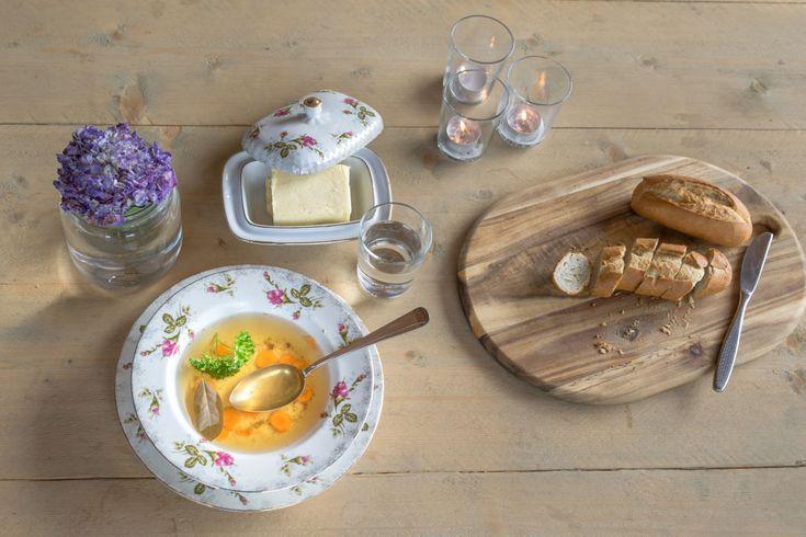 Het authentieke recept voor runderbouillon.  #recept #runderbouillon #culinairgeheugen