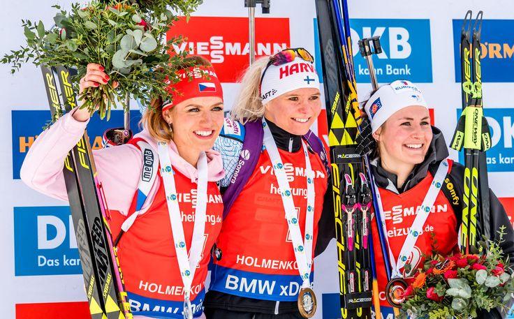 Mari Laukkanen - pursuit gold after death of her coach. (Oslo 2017)