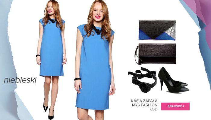 Idealny zestaw do biura! Sukienka Kasia Zapała: http://bit.ly/1UoBDHL