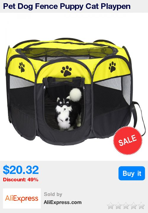 Pet Dog Fence Puppy Cat Playpen Crate Cage 8 Panels Portable House Kennel Tent Pet Dogs Carrier Fence Foldable Hammock 3 Colors * Pub Date: 02:52 Jun 23 2017