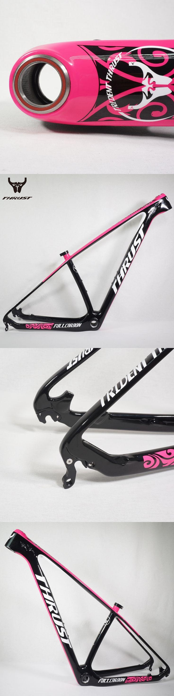 "THRUST Full Carbon Frame MTB Frame 29er 15''/17''/19"" Mountain Bike Bicycle Carbon Frame 29ER"