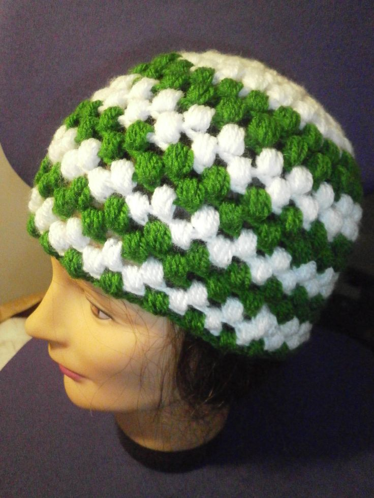 (Puff Stitch) beanie unisex adult