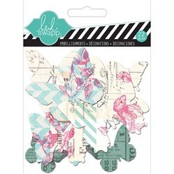 May 15 Kit Add On 10 - Hello Today Clear Butterflies