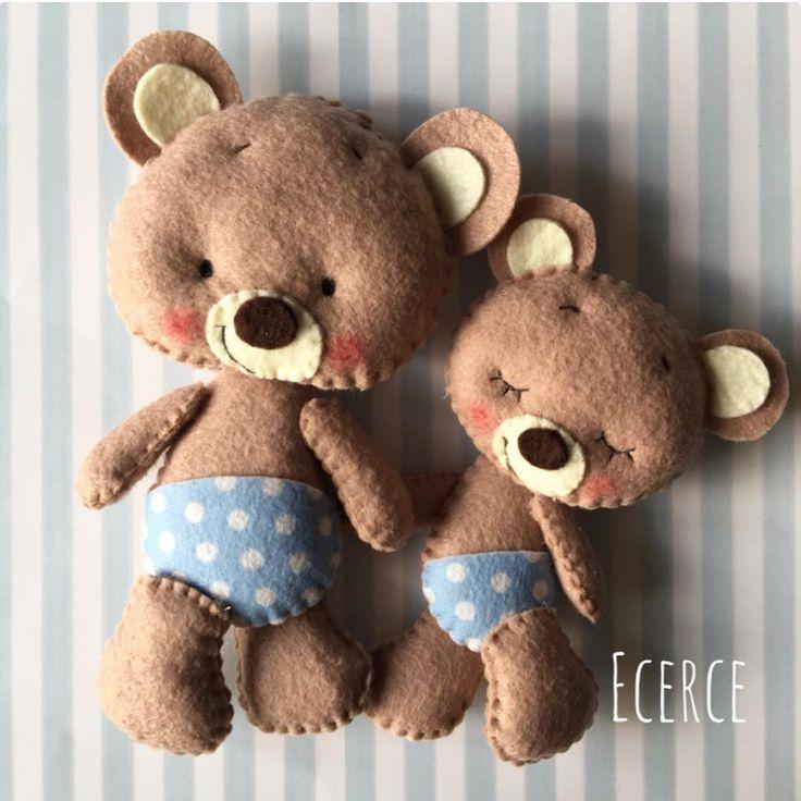 #keçe #felt #feltro #fieltro #bear #feltbear #bearlove #ecerce #tasarım #babyroom #babyroomdecor #elyapımı #handmade #hediye #babyshower #bebekodası #ayıcık #baby #babyboy #kids #kidsroom