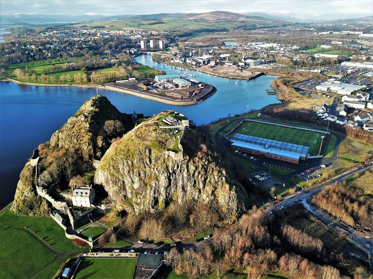 "Heavens Above on Twitter: ""Some shots from Dumbarton today of football stadium, rock and castle... Video to follow.… """