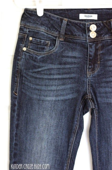Kensie Malin Bootcut jeans - these look nice! I wonder if they also have a skinny jean?