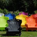 Queen Of Love Armchair   Eclectic   Outdoor Lounge Chairs    The  Plastic Outdoor Lounge Chairs Cheap