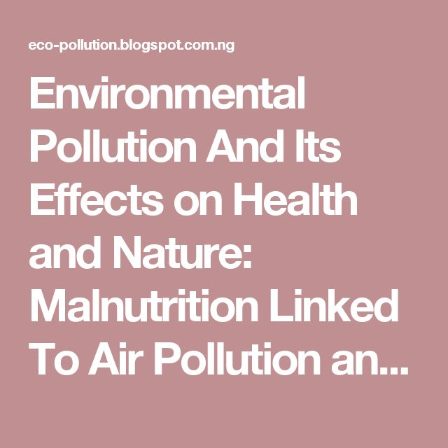 essay on environmental pollution in 150 words