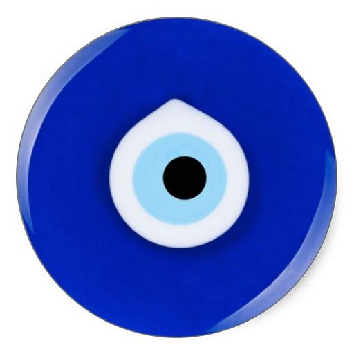 Nazar evil eye stickers