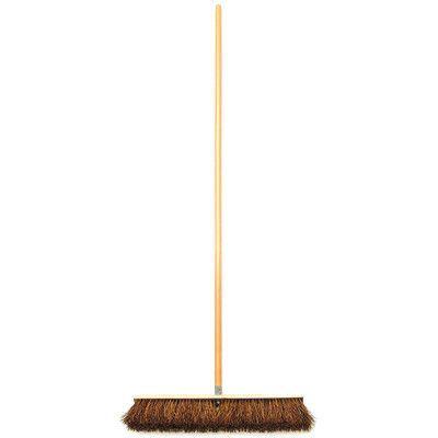"Cequent Laitner Company 18"" Palmyra Push Broom"