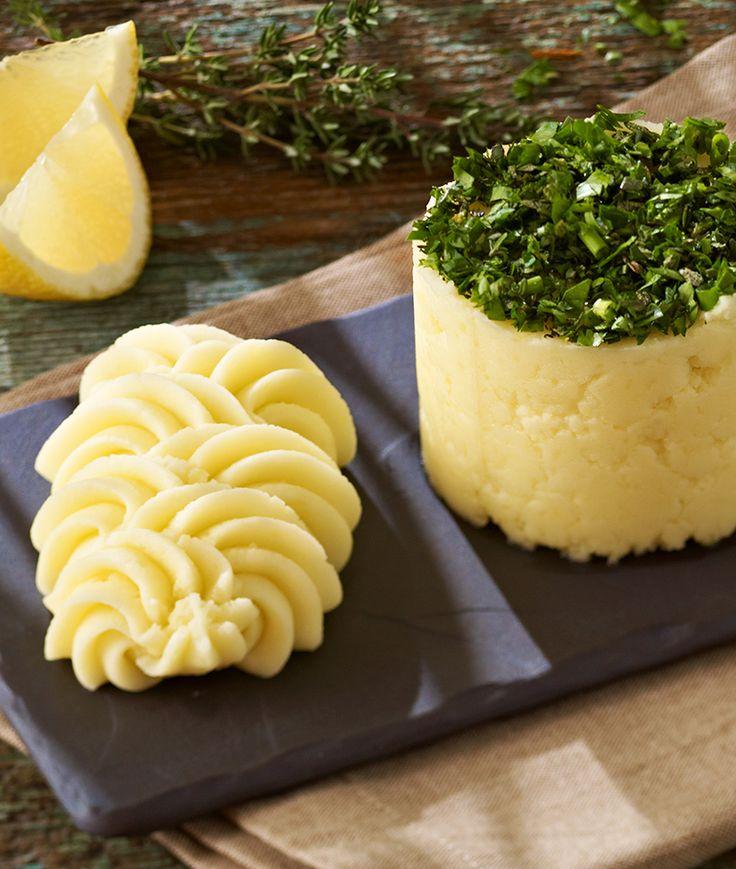 Raffinierter Kartoffelbrei mit Zitronensaft