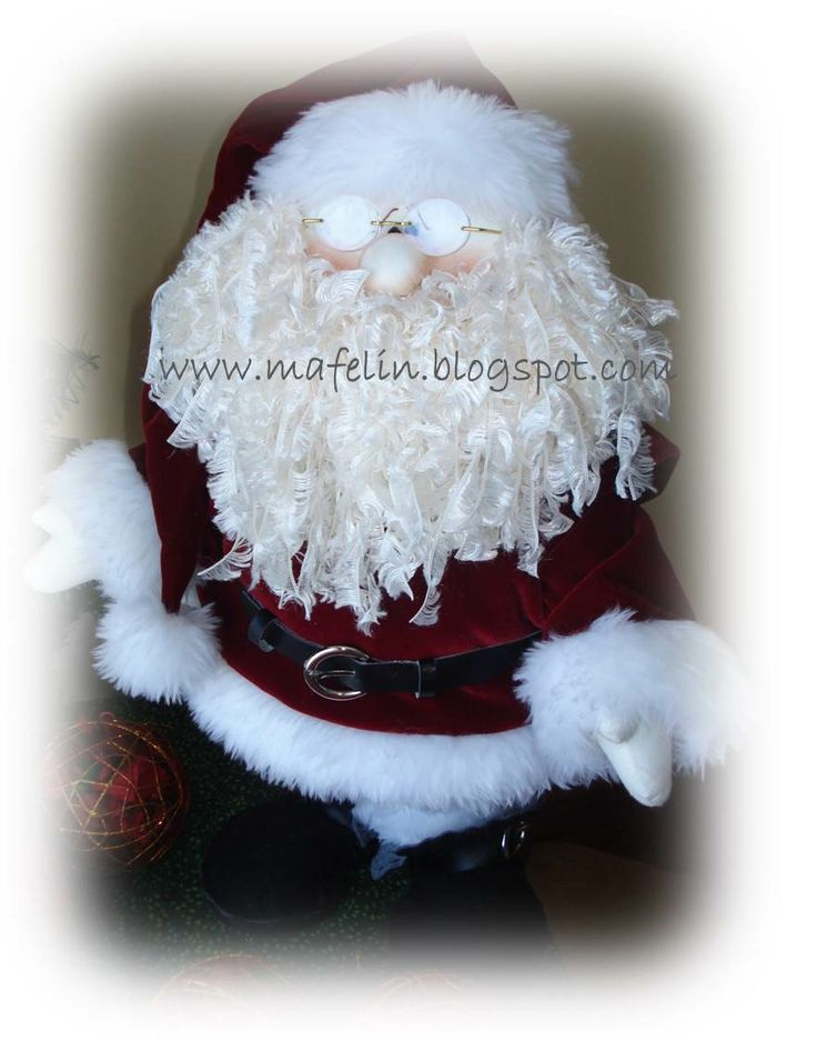 Pappa Claus. Hand made by me. Desig by Sparkles N Spirit.