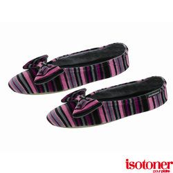 #Isotoner #slippers 100% Leather Sole Inner & Outer : Cotton & Polyester Machine washable
