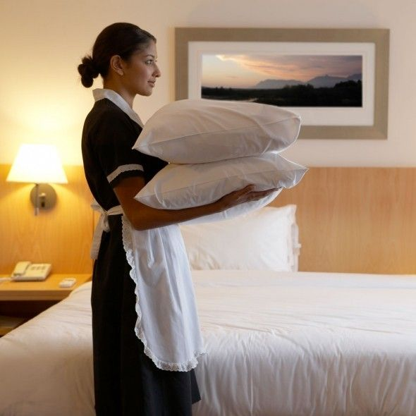 Sex with hotel maid