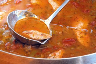 Redfish Court-Bouillon recipe from Red Fish Grill! #nola #food #recipe