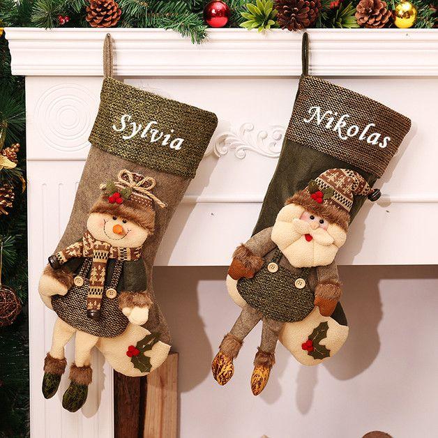 Nikolausstrumpf Nikolausboot Weihnachten Geschenk
