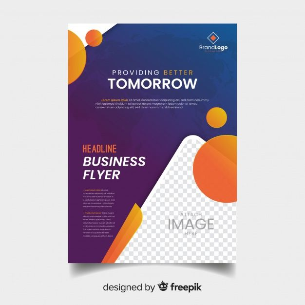 Download Modern Business Flyer Template With Abstract Design For Free Business Flyer Templates Business Flyer Flyer