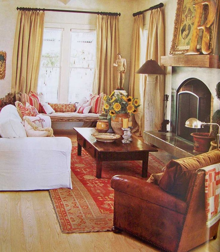 Living Room: Delectable French Country Living Room Decoration With .