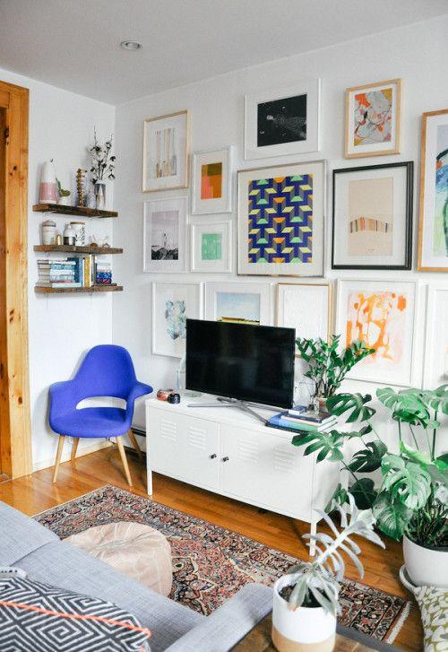modern boho space