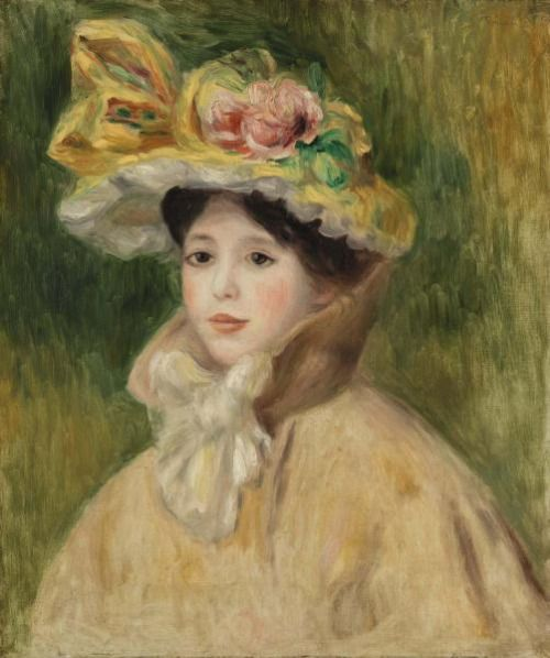 Pierre-Auguste Renoir French, 1841–1919 Woman with Capeline.jpg