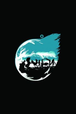 Final Fantasy VII Minimalistic