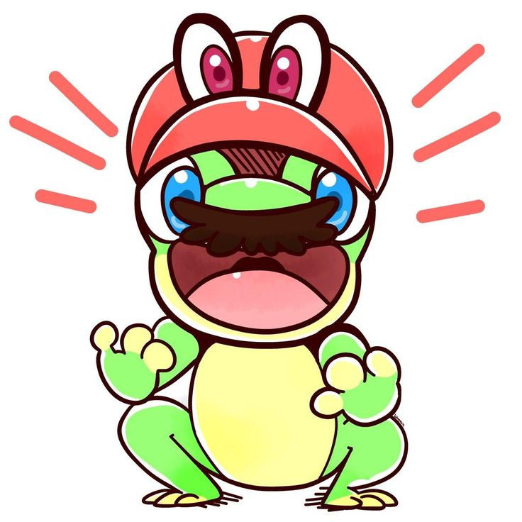 Frog Mario!! | Super Mario Odyssey | Know Your Meme