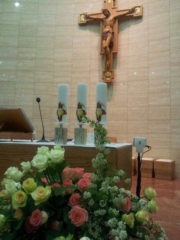 Easter vigil mass at St. Francisco church in Pangyo~