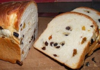 Old fashioned Raisin Loaf - Old Style & Favourite South-African Recipes