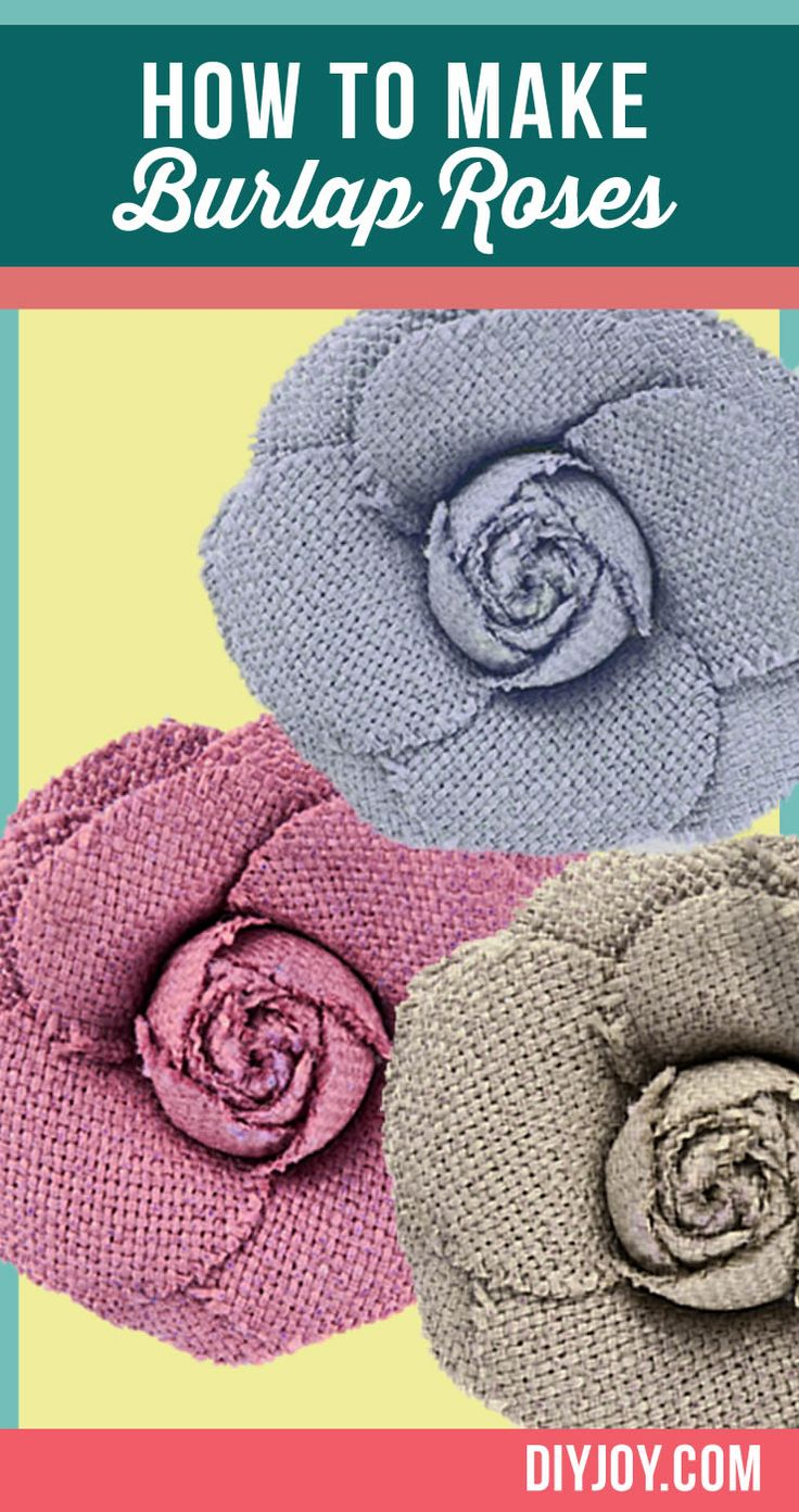 1373 best burlap images on pinterest hessian fabric for How to make hessian flowers