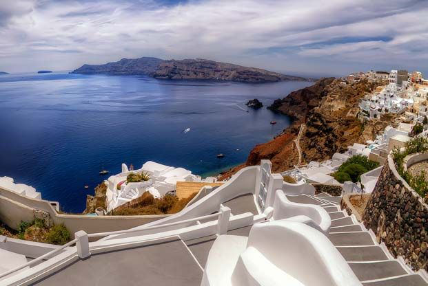 Randonnée Cyclades - Santorin, Amorgos et Naxos - La Balaguère