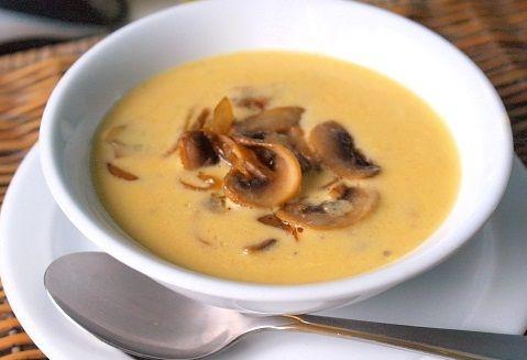 Нежный грибной крем-суп. Готовится очень просто. Подробнее http://dukanlegko.ru/recepti/gribnoj-krem-sup/ #диета #дюкан #диетиадюкана #рецепты #супы # dukan #чередование