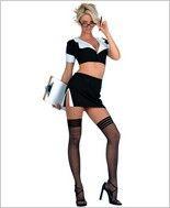 Music Legs® Sexy Secretary Outfit ML-70074