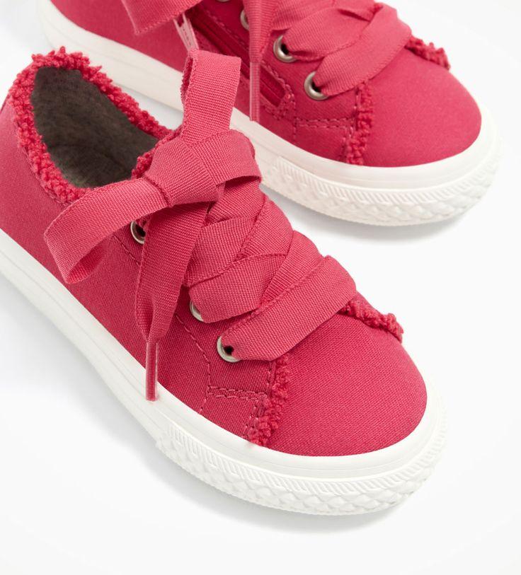 Pineapple Footwear, Sneaker bambine, Multicolore (Grey/Coral), 4 Child UK