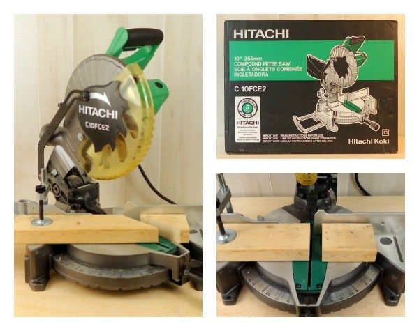 hitachi uu240f. hitachi miter saw review and setup tips uu240f