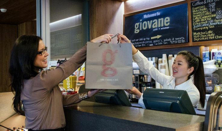 It's all smiles at giovane!