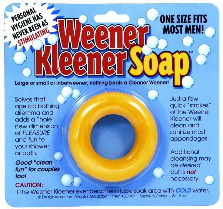 Amazon.com: Design Sense Generic Weener Kleener Soap: Toys & Games, Nice Gag Gift