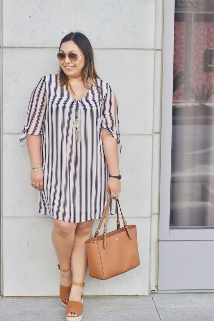 Stripes for Spring - Lovely Silvia | A Life & Style Diary | Classy dress outfits, African print fashion dresses, Classy outfits for women