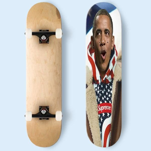 Supreme Obama Skateboard | Cozymoshi