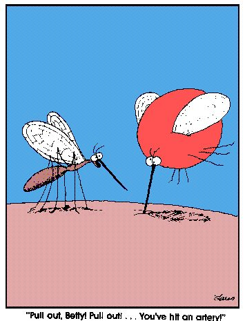 One of my favorite Far Side cartoons. Reminds me of my phlebotomist days! We had T-shirts with this on them!
