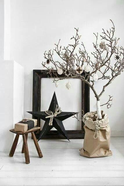 Natural Christmas Decorations   Photography And Styling By Paulina Arcklin