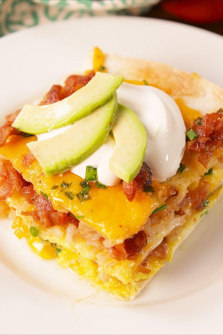 Brunch Lasagna Recipe Easy Brunch Recipes Breakfast Casserole